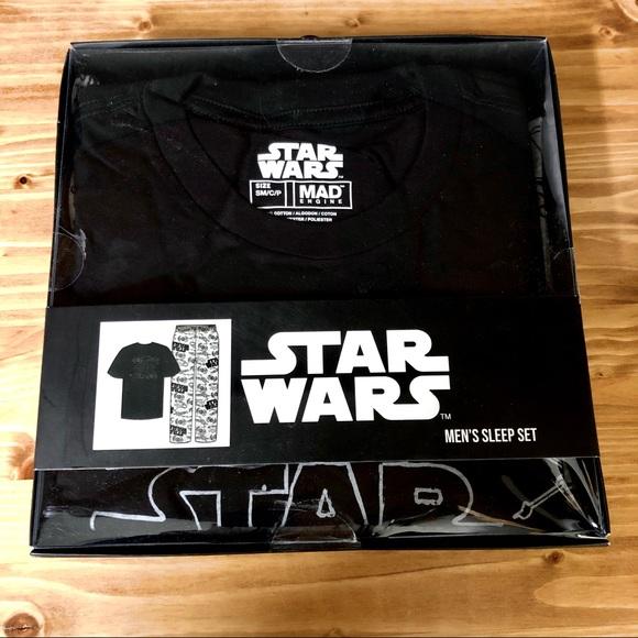 NWT Star Wars Small Pajama Sleep Set